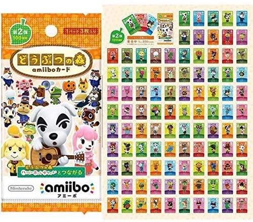 【中古】どうぶつの森 amiibo カード 第2弾 フルコンプ 100種セット