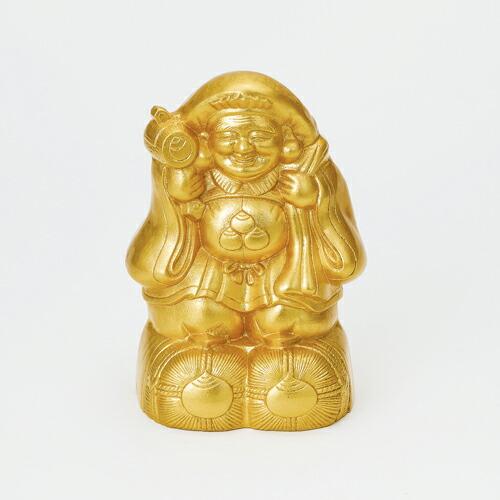 金箔 置物 8.5二俵大黒 鋳物製 ギフトラッピング無料 のし対応