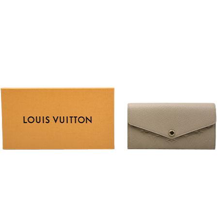 ルイヴィトン LOUIS VUITTON モノグラム アンプラント 長財布 ポルトフォイユ サラ M68708【中古】