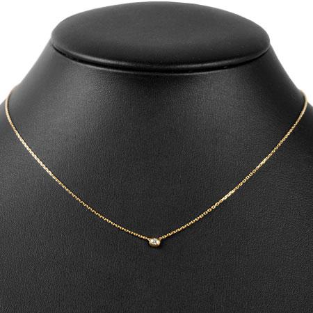 カルティエ Cartier ディアマンレジェ ダイヤモンド ネックレス XS 41cm K18PG ピンクゴールド CRB7224516【中古】
