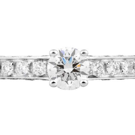 新しいコレクション ブルガリ BVLGARI ソリティア ダイヤモンド 0.30ct(F/VS1/VG) リング Pt950 デディカータ ア ヴェネチア 1503 #10.5【】, 京極町 606f19a8
