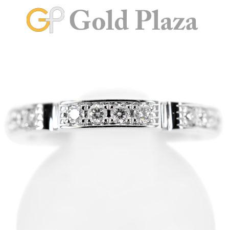カルティエ Cartier マイヨン パンテール ハーフ パヴェ ダイヤモンド 12P リング K18WG 3.6g #49【中古】