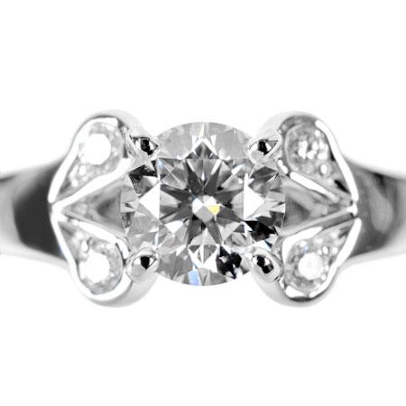 【先着!!クーポンで最大3万円オフ!12/1-3】カルティエ Cartier ダイヤモンド 0.30ct (G/VS1/3EX) バレリーナ ソリテール リング #49 Pt950 4.2g N4198000【中古】
