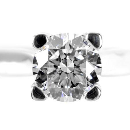 【先着!!クーポンで最大3万円オフ!12/1-3】ハリーウィンストン HARRY WINSTON ダイヤモンド 1.02ct(F/VS1/3EX) ソリティア HW リング Pt950 5.7g #8.5 エンゲージメントリング【中古】