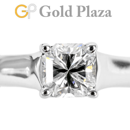 ティファニー Tiffany&Co. ダイヤモンド 0.57ct(E/VS1/GOOD) ルシダ リング #6.5 PT950 4~2g ソリティア【中古】
