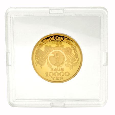 2002年 ワールドカップ 記念 1万円金貨幣・千円銀貨幣 セット 金貨 純金 15.6g 銀貨 純銀 31.1g コレクターズアイテム