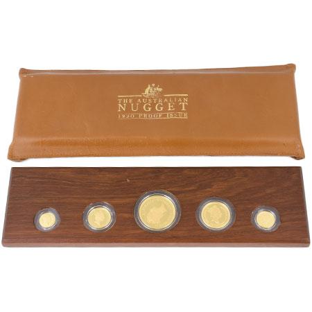 【年中無休】 1990年 オーストラリア ナゲット カンガルー ナゲット プルーフ オーストラリア 金貨 5枚セット 1990年 K24, ジェイエスジェイ:da370581 --- agrohub.redlab.site