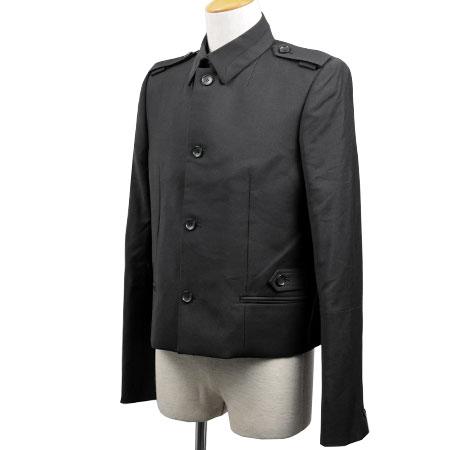 【sale】バレンシアガ BALENCIAGA エポレット 袖切替 ジャケット ブラック メンズ サイズ:48【中古】