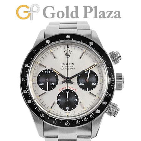 ロレックス ROLEX コスモグラフ デイトナ 6263 ビッグデイトナ シルバー 手巻き 腕時計 メンズ【中古】