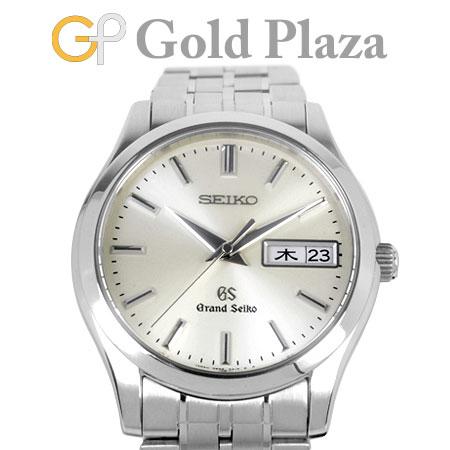 グランドセイコー Grand Seiko SBGT005 デイデイト ヘリテージコレクション SS メンズ 腕時計 クォーツ シルバー文字盤 9F83 GS【中古】