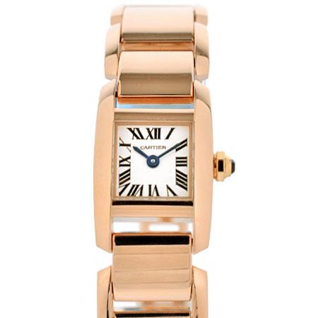 カルティエ Cartier タンキッシム SM K18PG レディース 腕時計 クォーツ W650018H【中古】