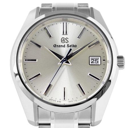 グランドセイコー Grand Seiko GS SBGV205 ヘリテージコレクション SS メンズ 腕時計 クォーツ シルバー文字盤【中古】