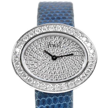 ピアジェ PIAGET ライムライト ダイヤモンド ベゼル レディース 腕時計 クォーツ K18WG G0A39203【中古】