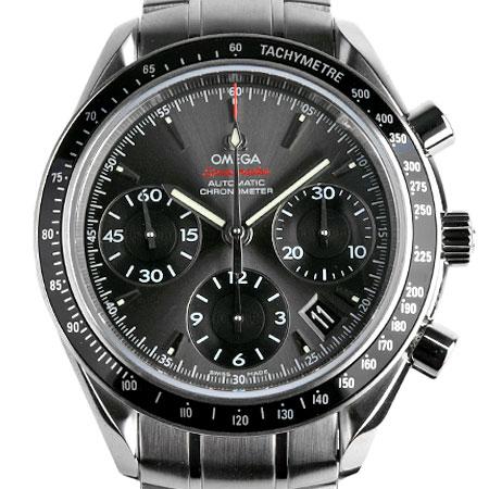 オメガ OMEGA スピードマスター デイト クロノグラフ 40MM SS メンズ 時計 自動巻き グレー文字盤 323.30.40.40.06.001【中古】