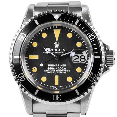 ロレックス ROLEX サブマリーナ デイト 1680 SS メンズ 腕時計 自動巻 ブラック文字盤 39番 フチなし【中古】