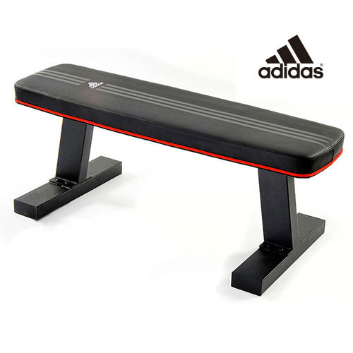 adidas(アディダス)フラットベンチ ADBE-10232|ベンチ ダイエット 健康器具 運動器具 腹筋トレーニング ダンベルトレーニング ダンベルベンチ ダンベル フィットネス エクササイズ用品 トレーニング用品 トレーニンググッズ 筋トレ