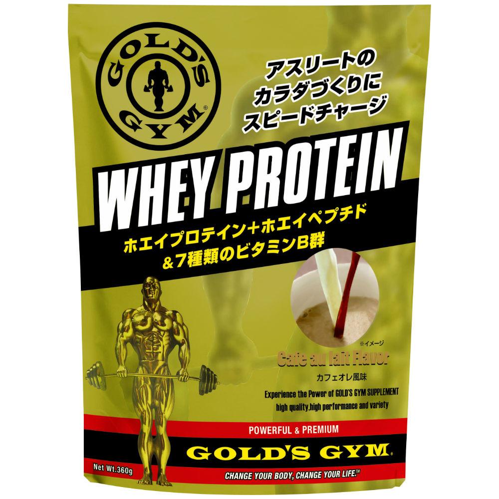 GOLD'S GYM(ゴールドジム)ホエイプロテイン カフェオレ風味 1500g