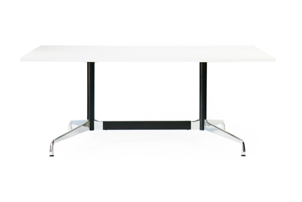 送料無料 新品 イームズ セグメンテッドベーステーブル イームズテーブル アルミナムテーブル W180×D100×H74 cm ホワイト ST