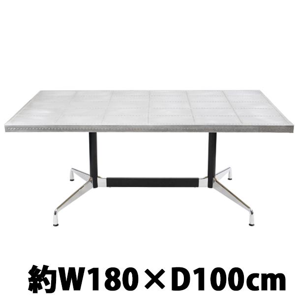 送料無料 新品 イームズ セグメンテッドベーステーブル セグメンテッドテーブル イームズテーブル アルミテーブル カフェテーブル オフィスデスク オフィステーブル W180×D100
