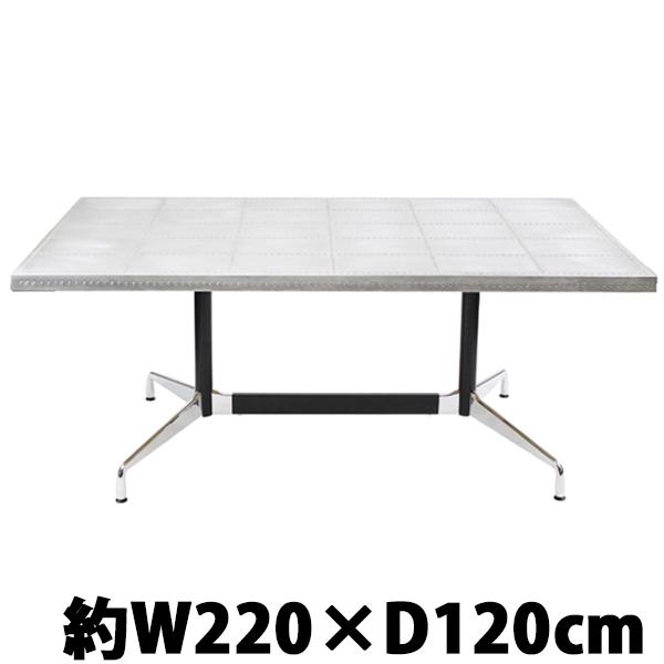 送料無料 新品 イームズ セグメンテッドベーステーブル セグメンテッドテーブル イームズテーブル アルミテーブル カフェテーブル オフィスデスク オフィステーブル W220×D120