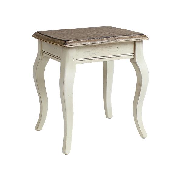 送料無料 新品 アンティーク調 サイドテーブル Sサイズ W約33.5×D約27×H約36.5cm ホワイト 花台 ネストテーブル アンティーク家具 木製 テーブル アンティーク風 アンティーク インテリア 家具 ベッドサイドテーブル シャビーシック シャビー 白 antiqueh01whs