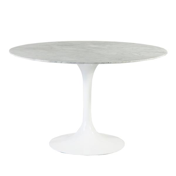 送料無料 新品 Tulip Table/チューリップテーブル 大理石 エーロサーリネンデザイン WH 012M