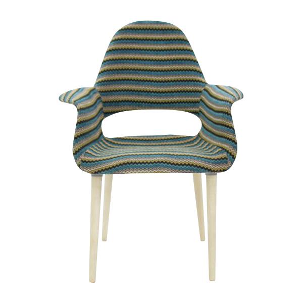 最も  送料無料 BLUE 送料無料 新品 PP32C オーガニックチェア チャールズ・イームズ/エーロ・サーリネン ファブリック chair ストライプ organic chair BLUE ブルーストライプ, designshop:671b58aa --- canoncity.azurewebsites.net