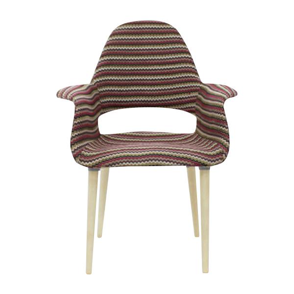 2019高い素材  送料無料 新品 PP32C オーガニックチェア チャールズ・イームズ 新品/エーロ chair・サーリネン ファブリック PP32C ストライプ organic chair RED レッドストライプ, 沼津市:f09fb7c7 --- canoncity.azurewebsites.net