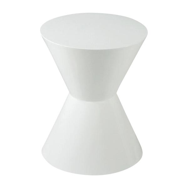 特価 マート 送料無料 新品 コーンチェア スツール ホワイト サイドテーブル