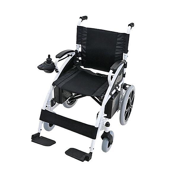 送料無料 電動車椅子 白 折りたたみ 車椅子 コンパクト ノーパンクタイヤ 電動 手動 充電 電動ユニット 電動アシスト 電動カート 折り畳み 車椅子 車イス 車いす 四輪車 4輪車 移動 介護 電動車いす ホワイト scootere01wh