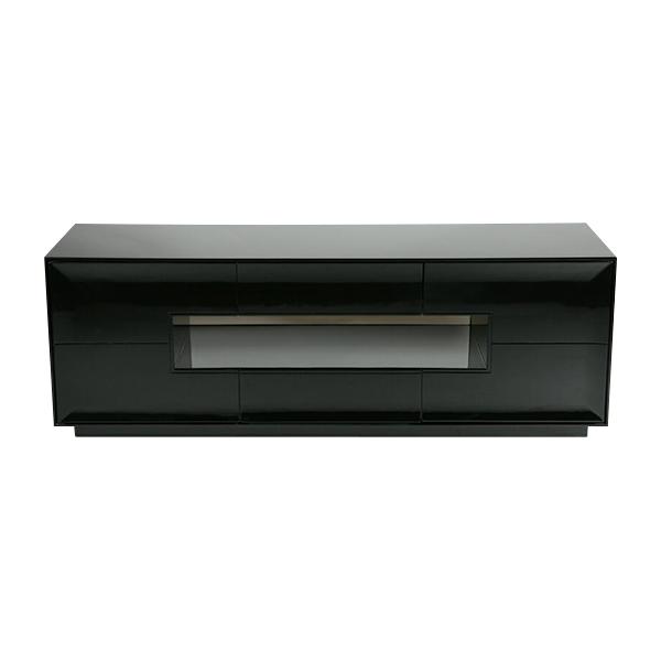 送料無料 新品 プラズマ ユニット テレビ台 AVボード ローボード BK 33071