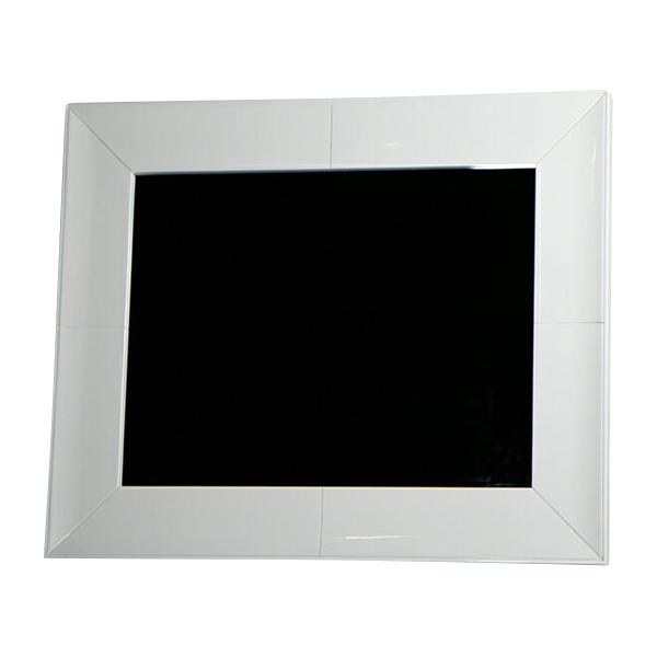 送料無料 新品 鏡面塗装 鏡 ミラー ホワイト