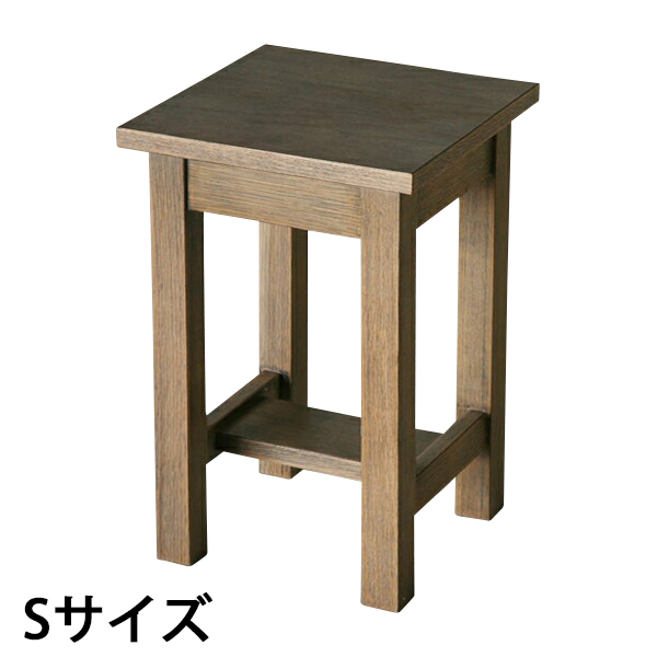 送料無料 新品 アンティーク調 サイドテーブル 花台 001-S
