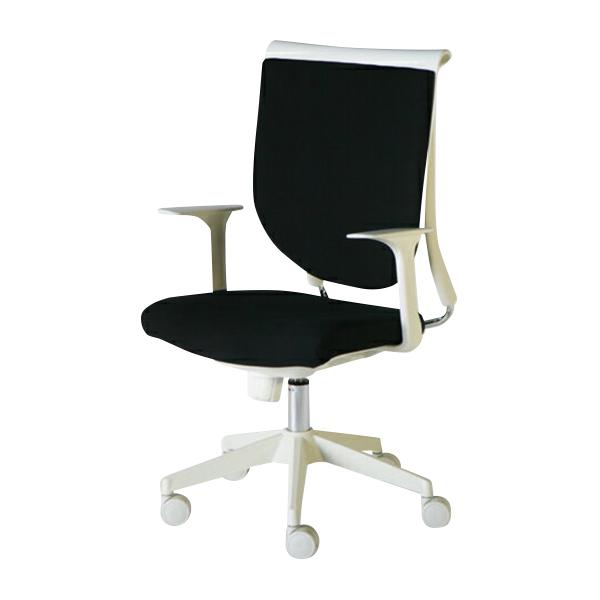 送料無料 新品 スキットチェア/高さ調節可能 オフィスチェア ロッキングチェア ミーティングチェア 会議椅子 パソコンチェア 肘付き デザイナーズ ロッキング機能 会議用 肘かけ取り外し可能 ブラック