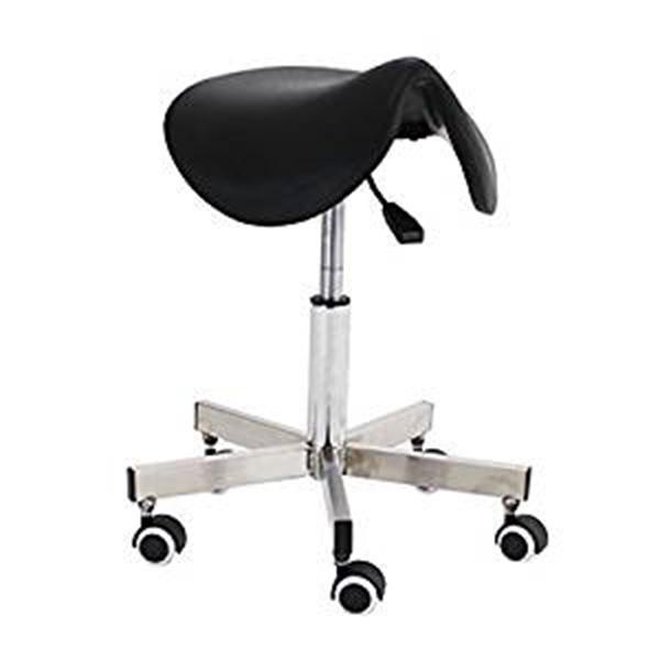 送料無料 新品 ステンレス製 サドルチェア 鞍馬チェア W55×D55×H48~62 ステンレス 鞍馬チェアー ドクターチェア オフィスチェア スツール チェア 椅子 イス いす 病院 診察 腰痛 姿勢 高さ調整 ガス圧 昇降 回転 キャスター 美容院 オフィス ミーティング 丸椅子 t70