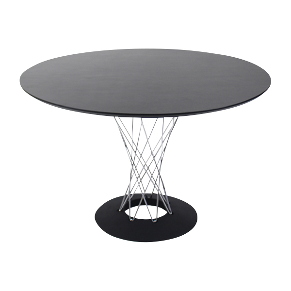 送料無料 新品 イサムノグチ サイクロンテーブル ダイニングテーブル コーヒーテーブル ラウンジテーブル ブラック