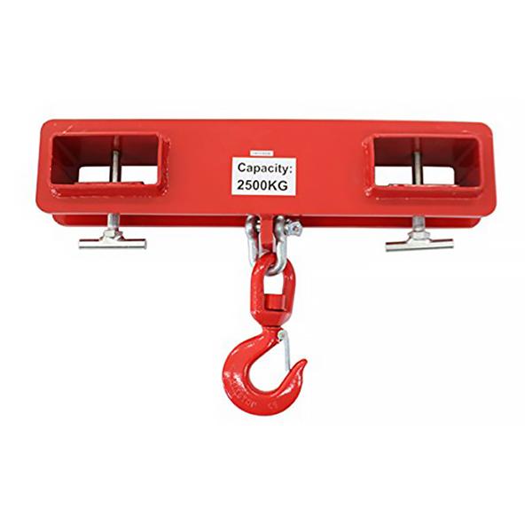 送料無料 新品 フォークリフト用吊りフック 2.5t 2500kg フォークリフト爪 吊りフック フック アタッチメント 吊り上げ フォークリフト フォークフック フォークリフト用吊りフック
