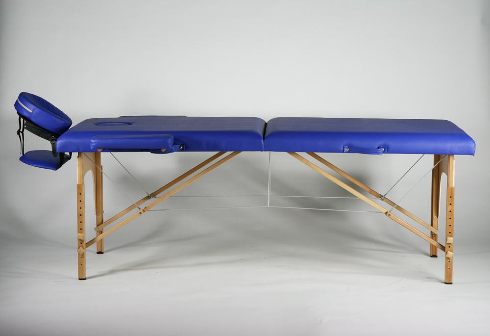 送料無料 新品 マッサージベッド 折りたたみベッド 指圧 エステ 整体 ブルー