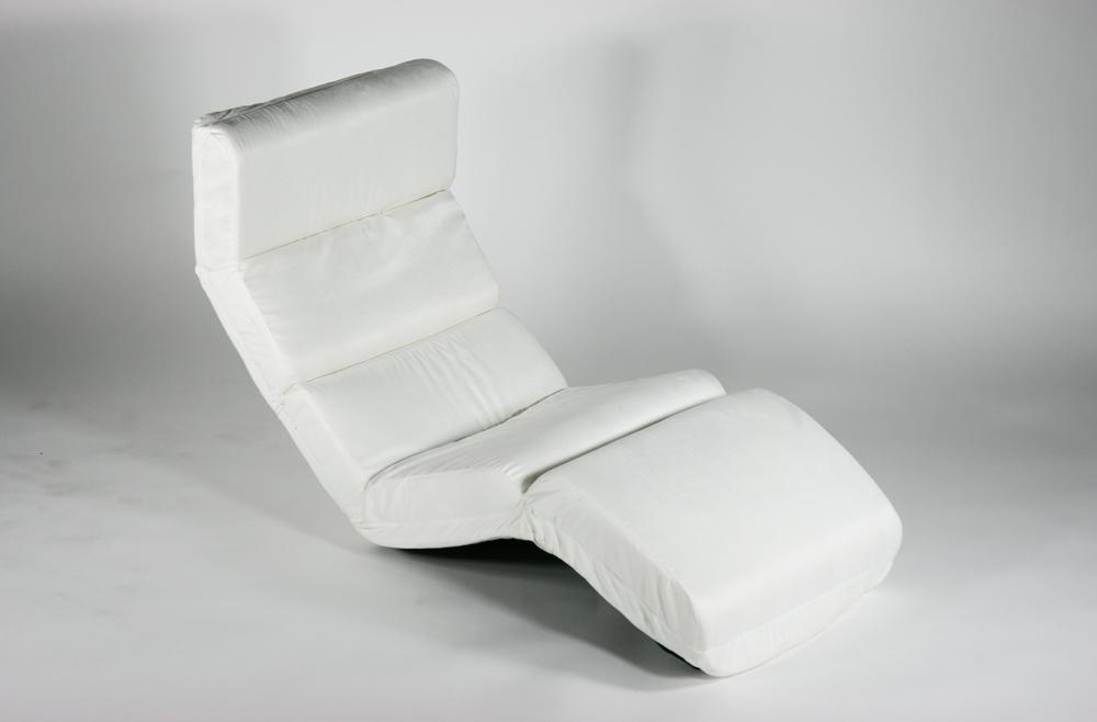 送料無料 新品 フロアベッド フロアチェア 座椅子 リクライニング 座イス 1人掛け wh