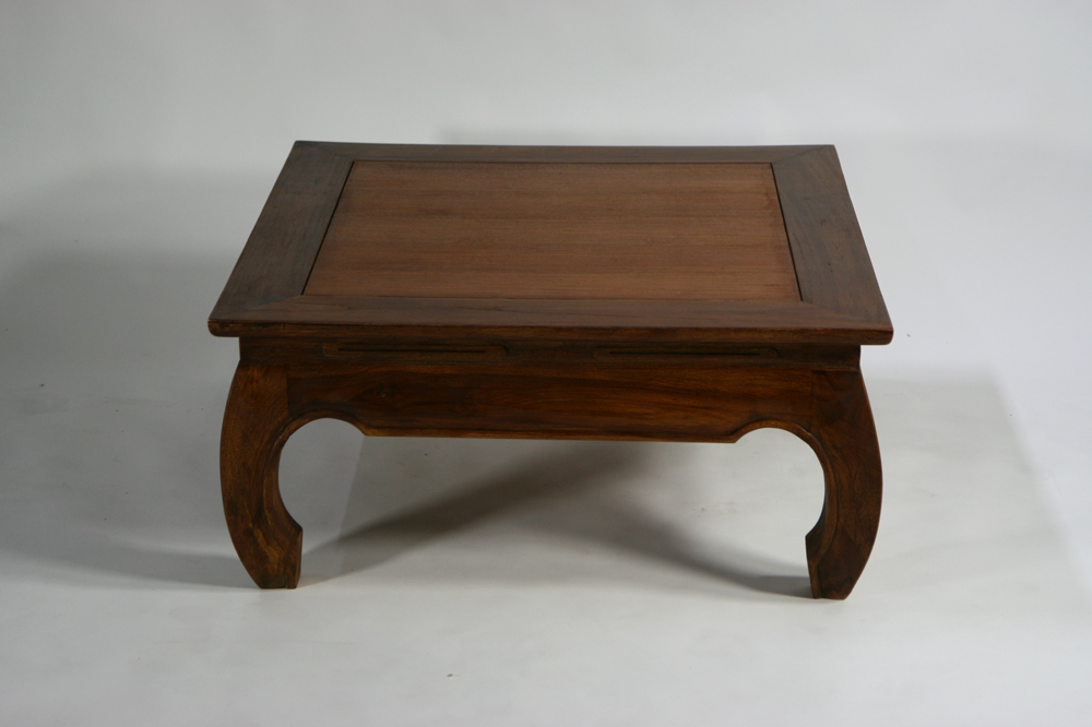 New □ Teak Solid Opium Table W Center Table Teak Wood Solid Wood
