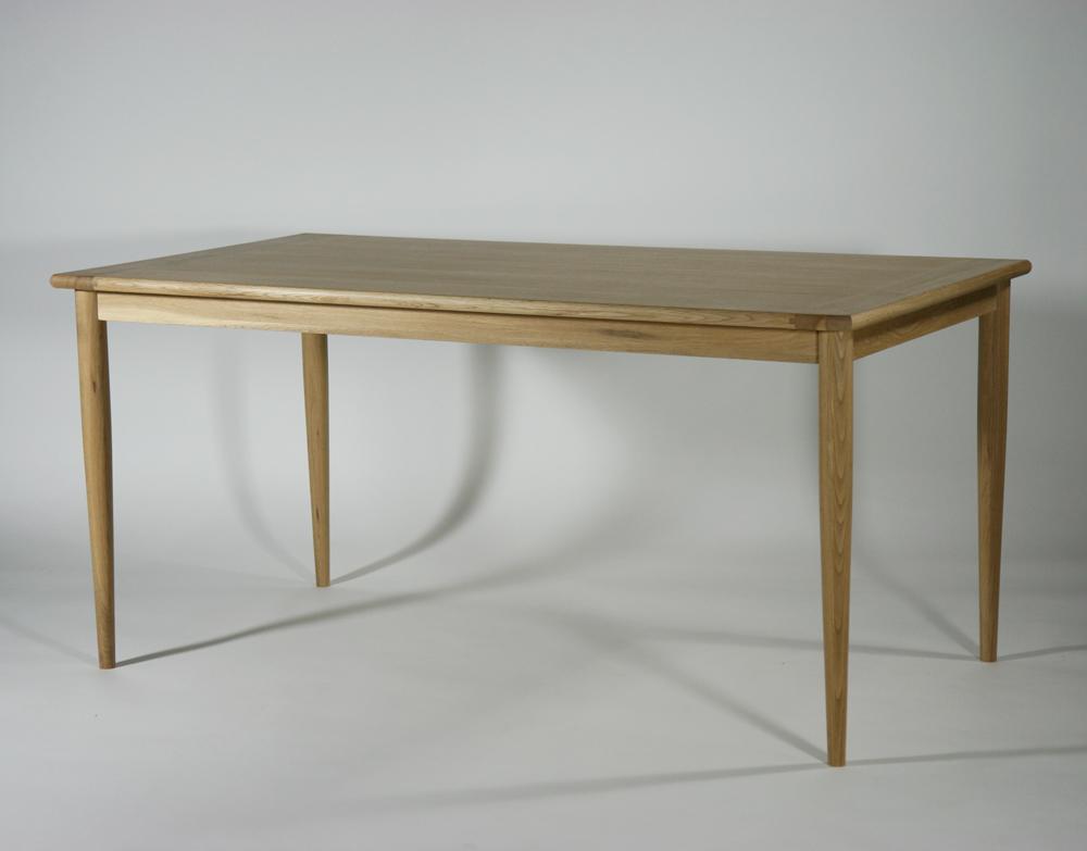 送料無料 新品 ダイニングテーブル オーク無垢材 D-22