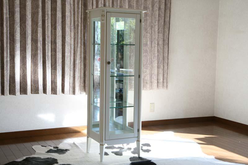送料無料 新品 ホワイトロココ コレクションボード 飾り棚 完成品 6117 ホワイト