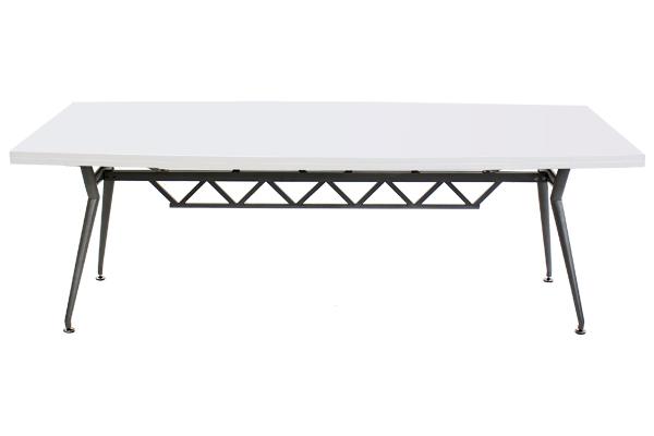 送料無料 新品 ホワイト会議テーブル ミーティングテーブル 80020WH