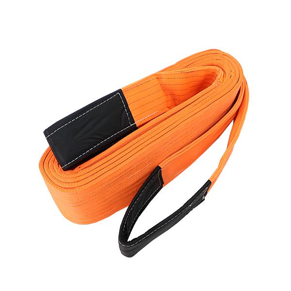送料無料 スリングベルト ベルトスリング 耐荷重約20t 約20000kg 全長約10m ベルト幅約255mm 荷揚げ 吊り上げ 吊り下げ 玉掛け ナイロンスリング ナイロンスリングベルト 吊りベルト 繊維ベルト 建築 土木 造園 固定 運搬 引っ張り 牽引 橙 オレンジ slbelt20t10m