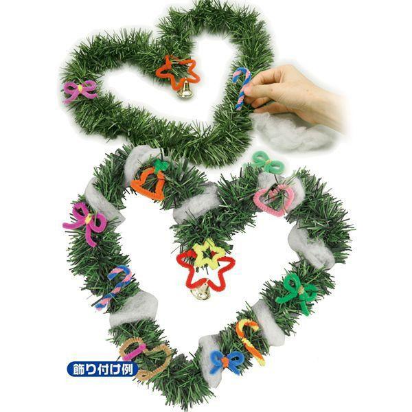 クリスマスリース リース 手作りキット 30個セット販売 工作キット ワークショップ クリスマスイベント