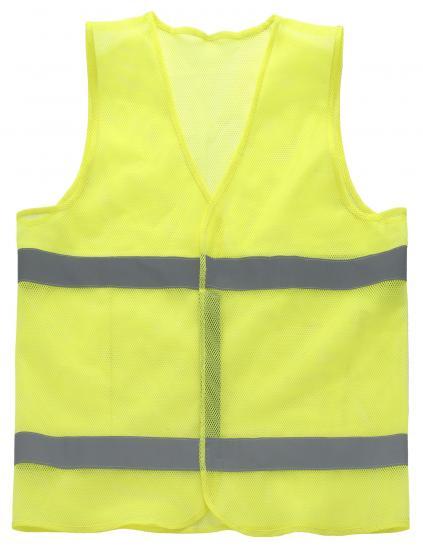 反射安全ベスト (81420) 昼夜を問わず視認性を高める安全ベスト 通気性の良い柔らかなメッシュ編み 72枚セット販売