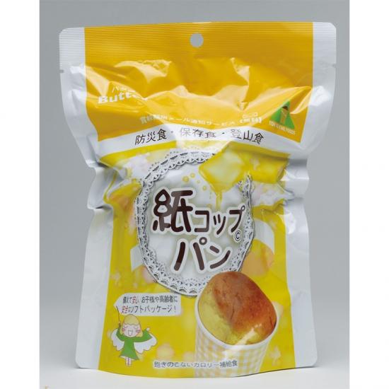 災害時向け 非常食 紙コップパン 国産品 30個セット販売 【代引き不可商品】