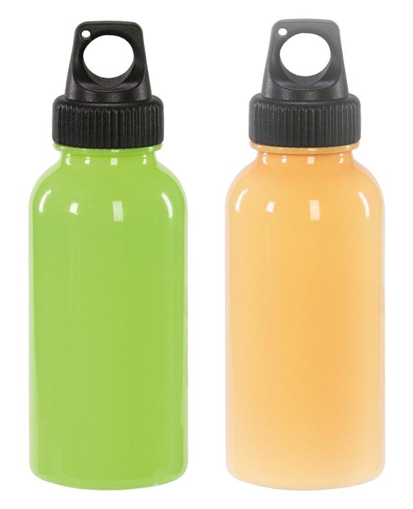 カラフルプラボトル350ml スポーティーなフォルムとカラフルな色の軽量プラスチックボトル 70本セット販売 名入れ可能商品 色指定不可