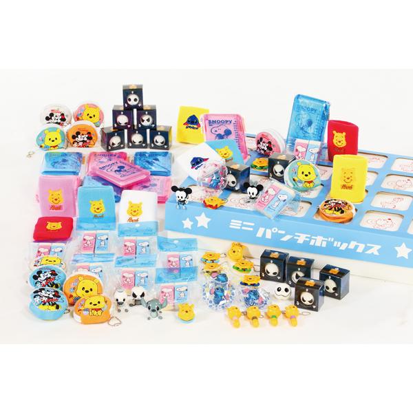 ミニパンチBOX用キャラクター(D)(景品) ※景品のみ販売 ボックスは別売りです【代引き不可商品】