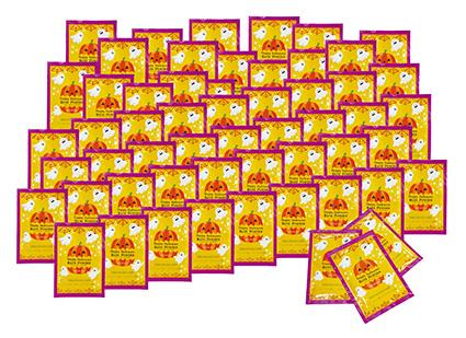 ハロウィン サイコロ出た目の数だけプレゼント ハロウィン入浴剤(約35人用) 【代引き不可商品】